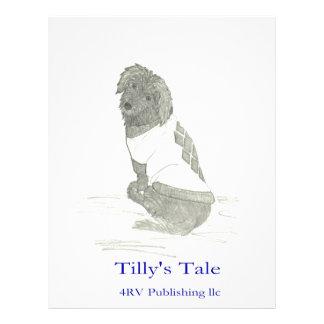 Tilly en el suéter 4RV que publica el LLC Membrete Personalizado