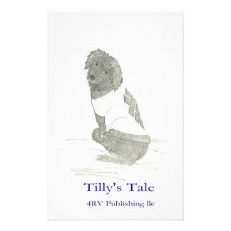 Tilly en el suéter 4RV que publica el LLC Papelería Personalizada