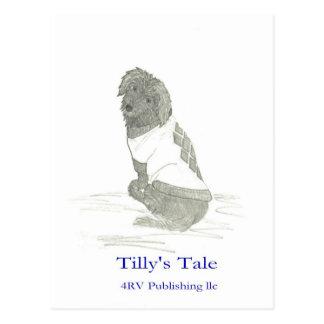 Tilly en el suéter, 4RV que publica el LLC Postales