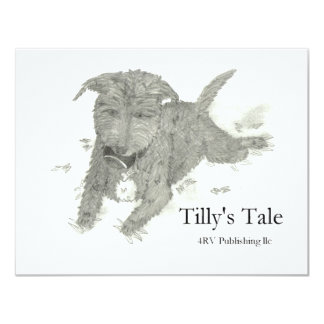 Tilly Invitación 10,8 X 13,9 Cm
