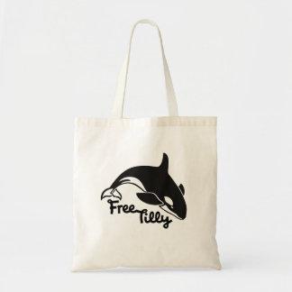 Tilly libre bolsa tela barata