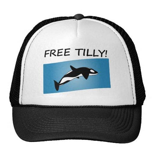 Tilly libre gorros bordados