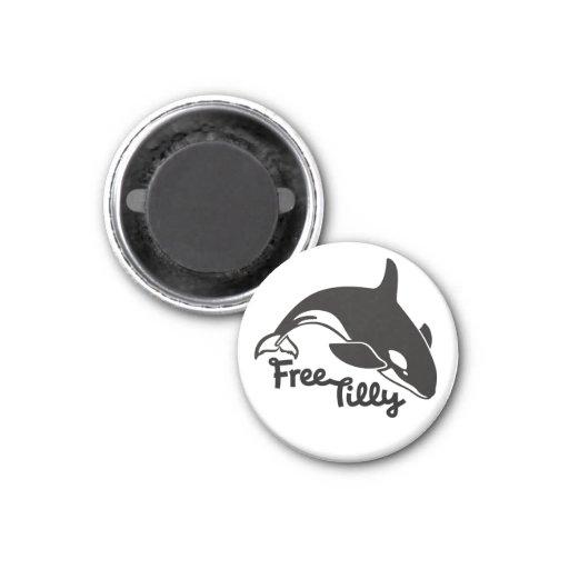 Tilly libre imán de frigorífico