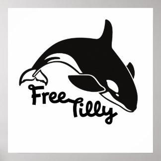 Tilly libre póster