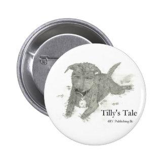 Tilly Pinback Button