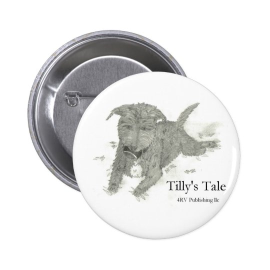 Tilly Pinback Button