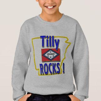 Tilly Rocks ! (blue) Sweatshirt