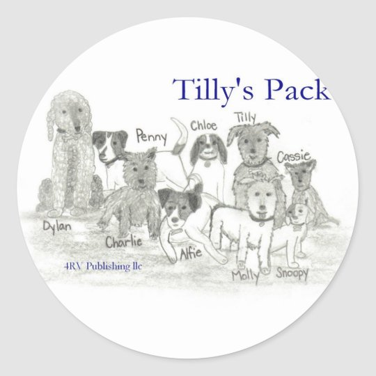 Tilly's Pack Classic Round Sticker