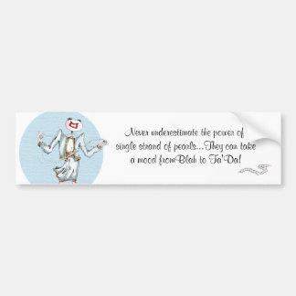 Tilly's Pearls of Wisdom Bumper Sticker