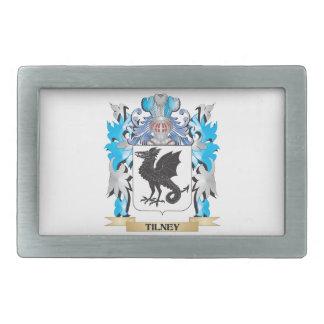 Tilney Coat of Arms - Family Crest Rectangular Belt Buckles