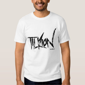 Tilrion Basic Tee with distressed logo
