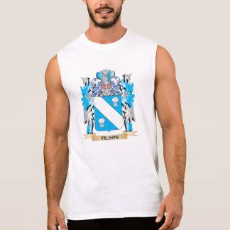 Tilson Coat of Arms - Family Crest Sleeveless Shirt