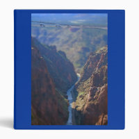 Tilt Shift Royal Gorge Bridge binder