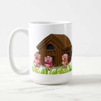 Tilt & Sprout Logo Mug with 3 Business Pigs