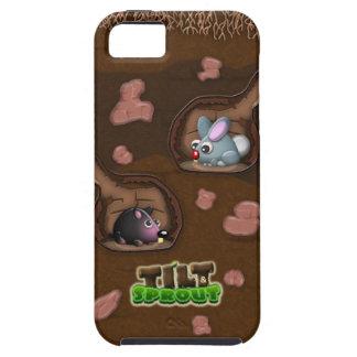 Tilt & Sprout - Underground Rabbit & Mole iPhone 5 iPhone SE/5/5s Case