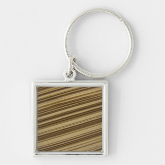 Tilted Book Pages Keychain