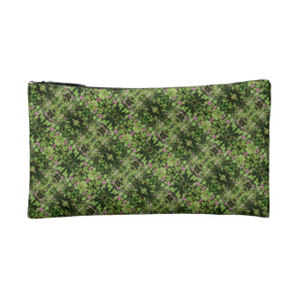 Tilted Flowers Cosmetic Bag
