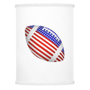 Flag lamp shades zazzle tilted football with american flag design 1 lamp shade aloadofball Images
