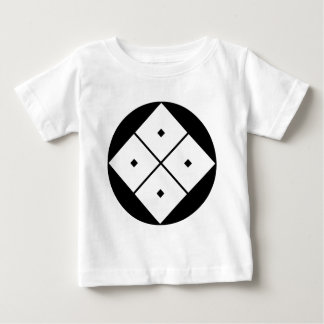 Tilted four-square-eyes in rice cake baby T-Shirt