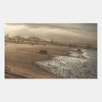 Tilted Landscape 1 Sticker