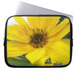 tilted sunflower computer sleeves