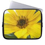 Tilted Sunflower Laptop Sleeve