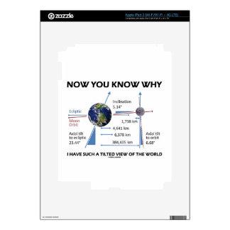 Tilted View Of The World (Orbital Variation) iPad 3 Skins