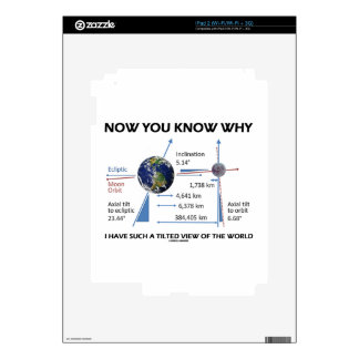 Tilted View Of The World (Orbital Variation) Skin For iPad 2