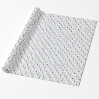 Tilted View Of The World (Orbital Variation) Wrapping Paper