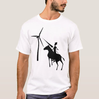 Tilting At Turbines Basic Tee