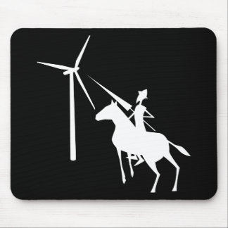 Tilting at Turbines Mouse Pad