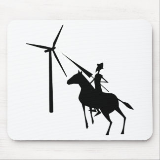 Tilting at Turbines MousePad