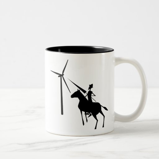 Tilting at Turbines Mug