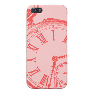 Tilting Clock Pocket Watch Face Timepiece Case For iPhone SE/5/5s