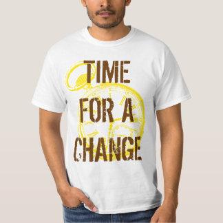 Tilting Clock Pocket Watch Face Timepiece T-Shirt