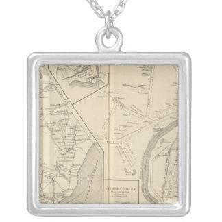 Tilton PO, Sanbornton, Tilton Square Pendant Necklace