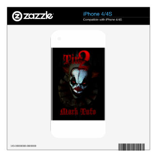 Tim2 Decals For iPhone 4S