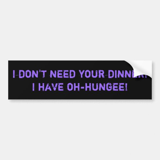 Tim and Eric Cinco I-Jammer Commercial Quotation Car Bumper Sticker