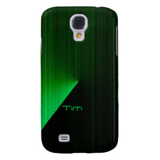 Tim Black & Green Samsung Galaxy S4 cover
