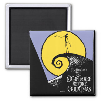 Tim Burton's The Nightmare Before Christmas 2 Inch Square Magnet
