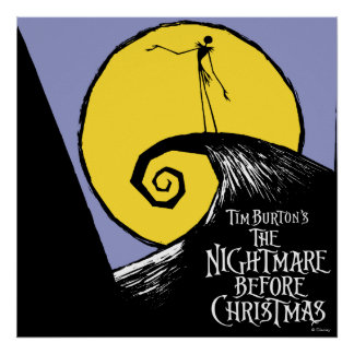 Tim Burton's The Nightmare Before Christmas Poster