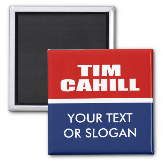 TIM CAHILL FOR GOVERNOR MAGNET