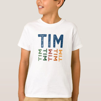Tim Cute Colorful T-Shirt