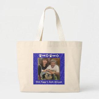 Tim, Francesca and Elvis Large Tote Bag