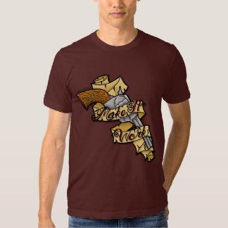 "Tim Gunn says ""Make It Work"" T-Shirt"