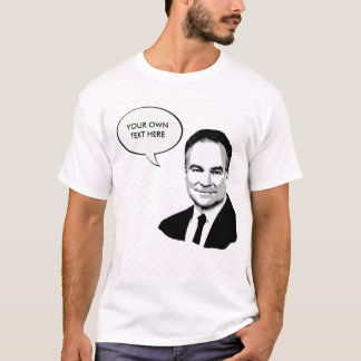 Tim Kaine - Bust - T-Shirt