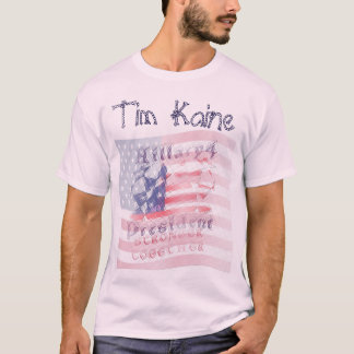 Tim Kaine USA Hillary 4 President American T-Shirt