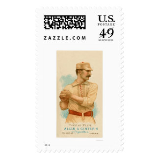 Tim Keefe Baseball Card 1887 Stamps