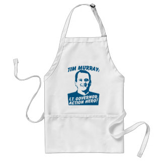 Tim Murray Action Hero Adult Apron