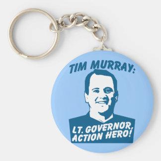 Tim Murray Action Hero Keychain